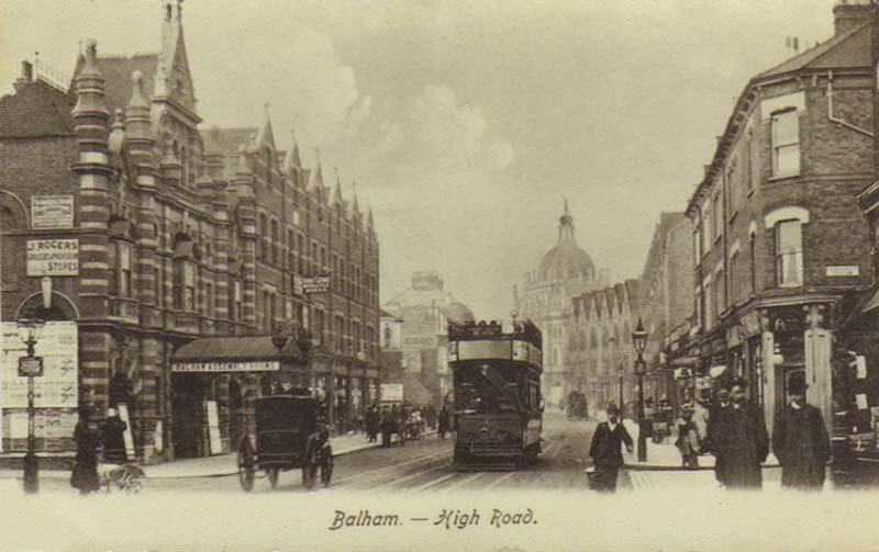 London, Balham, High Road 1910's