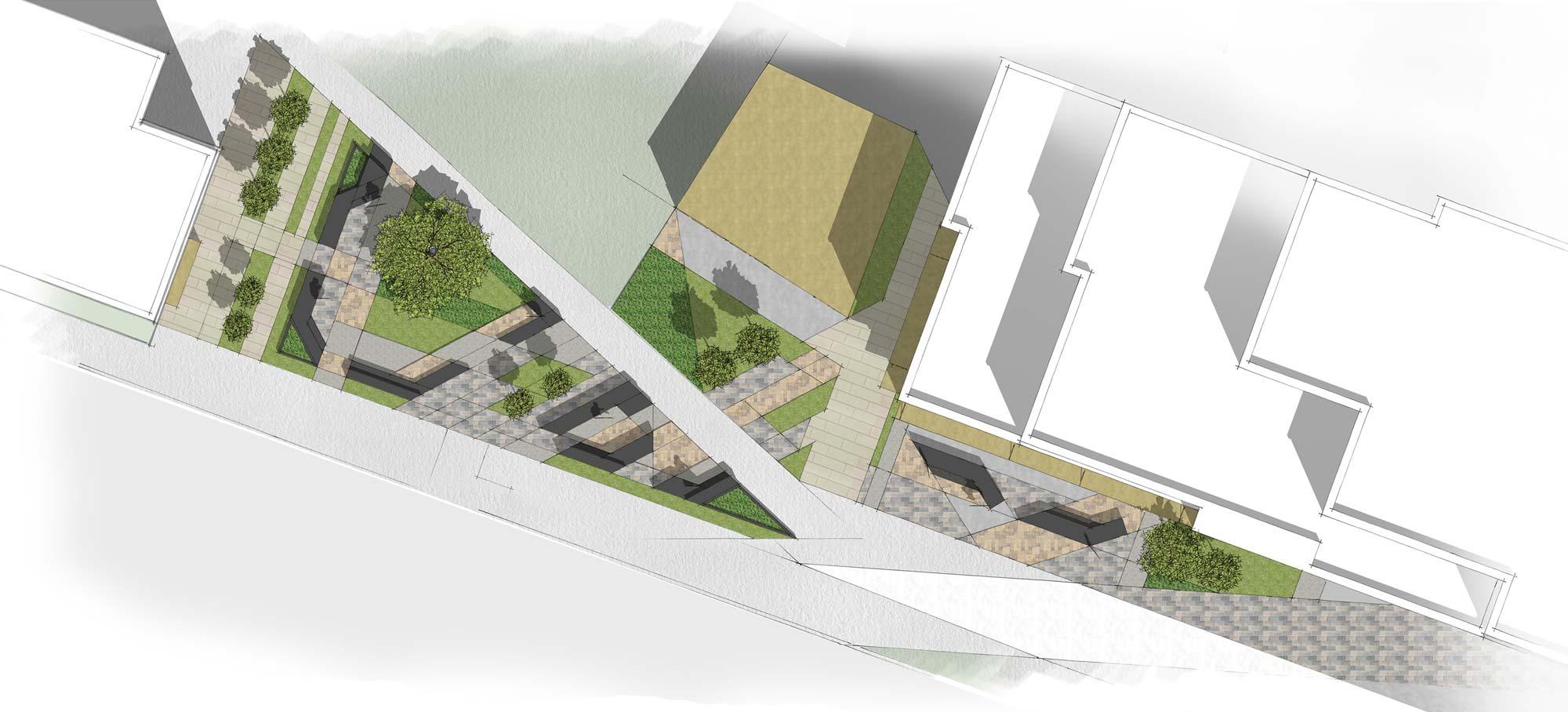 Cardiff Landscape plan