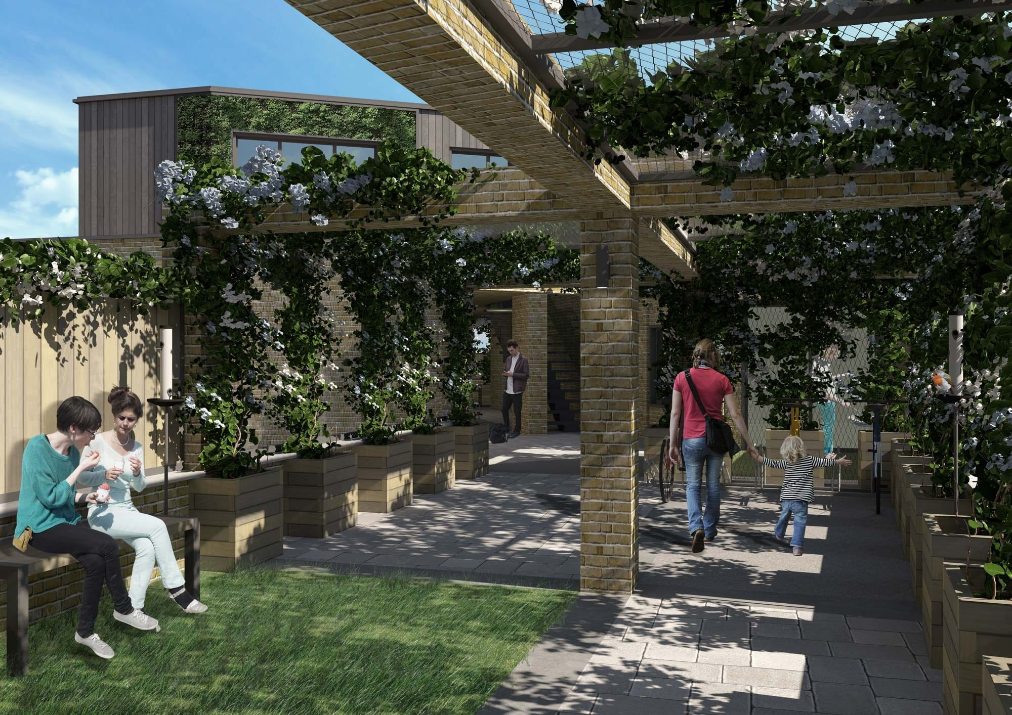 holmesdale-CGI-2---Courtyard-Render